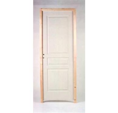 Bloc porte pr peint post form h204xl83cm poussant droit for Porte 73 ou 83