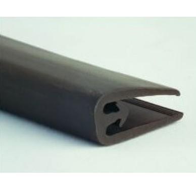 Joint lèvre noir profil toiture