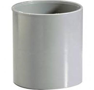 Manchon F/F dia. 80mm beige