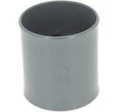 Manchon F/F dia. 80mm gris