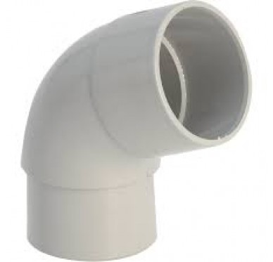 Coude 45° M/F dia. 80mm beige