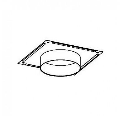 Plaque plafond en émaillé gris fonte