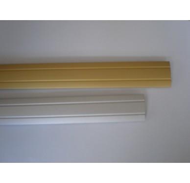 Seuil alu 42/16 mm hêtre clair