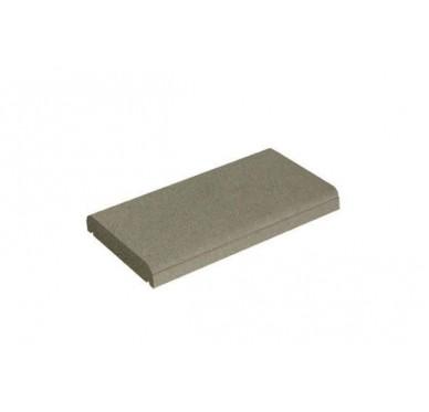 Couvre-mur plat ton gris H5xL50xl27cm