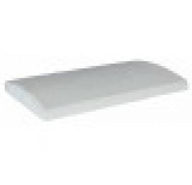 Couvre-mur arrondi gris H5xL50xl28cm