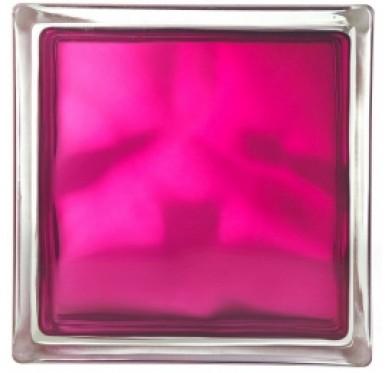 Brique de verre brilly rubis
