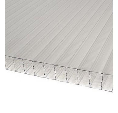 Plaque polycarbonate 32 mm translucide, 3 x 1.25 M