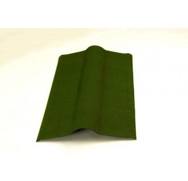 Faitière pour plaque bitumée Verte