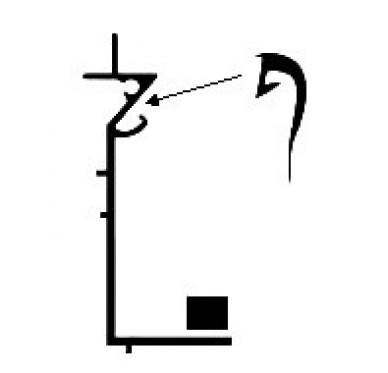 Profil faitière toiture polycarbonate