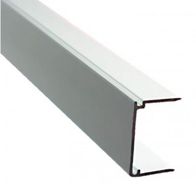 Obturateur plaque polycarbonate ép. 16mm, blanc