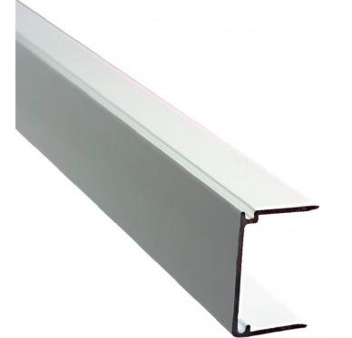 Obturateur plaque polycarbonate ép. 32mm, blanc