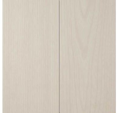 Lambris murs et plafonds à clipser blanc cerusé 120 x 25 cm