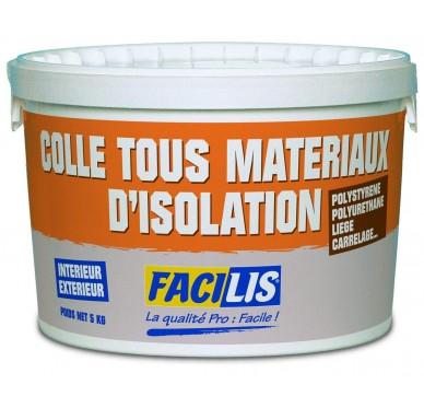 Colle tous matériaux 100% polyvalente en seau de 5kg