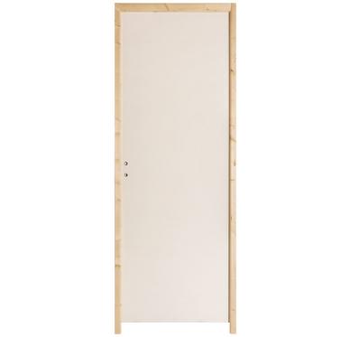 Porte seule prépeinte isoplane H204xL73cm