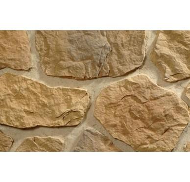 Angle pour plaquette Nevada brun nuancé