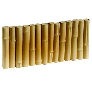 Bordure béton imitation bambou
