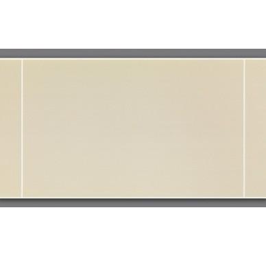 Lambris murs à effet carrelage beige 120 x 25 cm