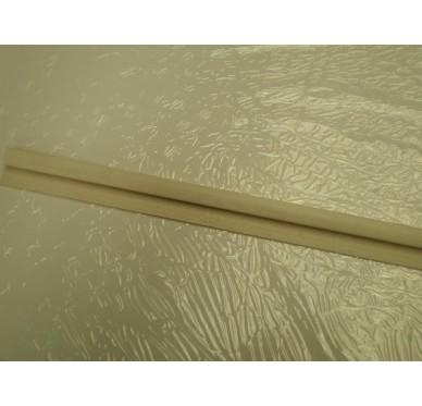 Profilé de départ PVC beige