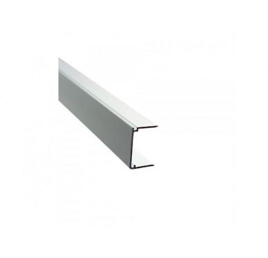 Obturateur plaque polycarbonate ép. 32mm, alu brut