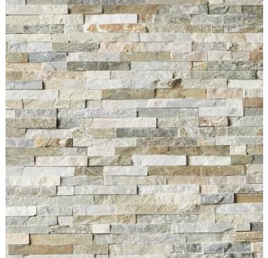 Plaquette de parement pierre naturel beige for Moule a pierre plaquette de parement