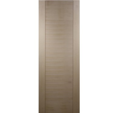 Porte seule bois exotique 1 panneau H204xL73cm