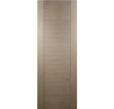Porte seule bois exotique 1 panneau H204xL83cm