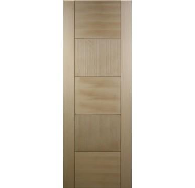 Porte seule bois exotique 5 panneaux H204xL83cm