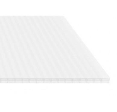 Plaque polycarbonate 16 mm opale, 4 x 0.98 M