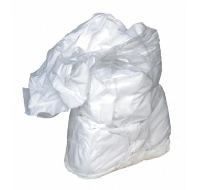 Sachet de chiffons blanc 1kg