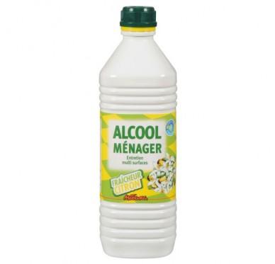 Alcool ménager fraicheur citron 1 litre