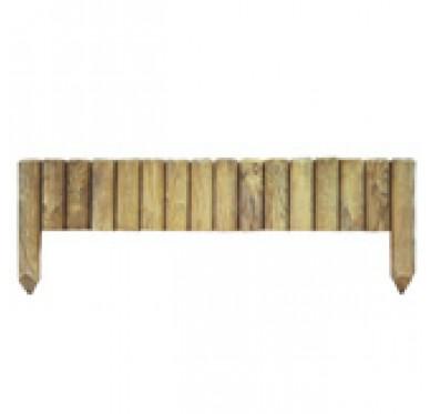 Bordure de jardin bois