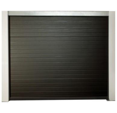 Porte de garage motorisée prémontée H200xL240cm