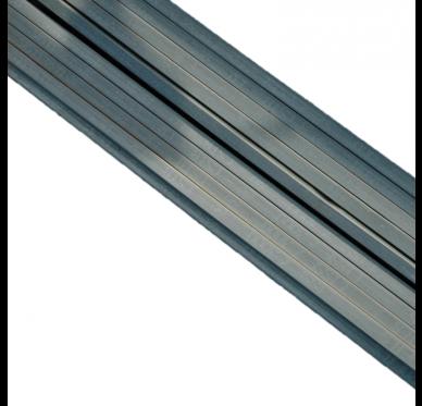 Lisse en métal 20 x 24MM Longueur 3 mètres