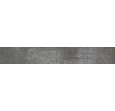 Plinthe carrelage 8 X 45 cm, Gris foncé
