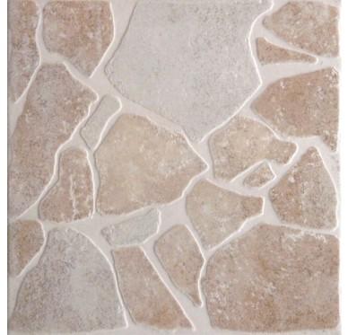 Carrelage pour sol extérieur en grès cérame émaillé 34 x 34 cm