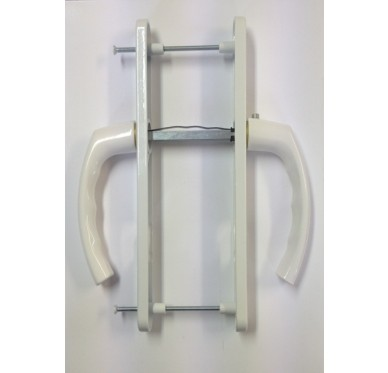 Poignée Laquée blanche pour Porte Fenêtre PVC Gamme ALPHA
