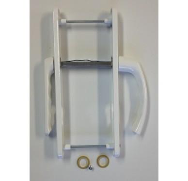 poign e laqu e blanche pour porte fen tre pvc gamme alpha. Black Bedroom Furniture Sets. Home Design Ideas