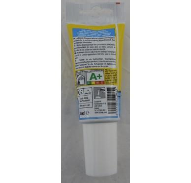 Silicone sanitaire Acétique en tube de 80 ML Transparent
