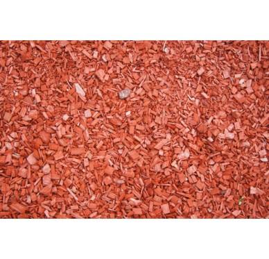 Coponature plaquettes de bois rouge 60 Litres