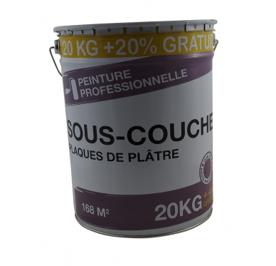 Sous-couche plâtre 20 Kg + 20% Gratuit soit 16 Litres