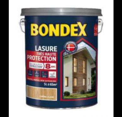 Bondex Lasure très haute protection Siliuret Satin Chataignier