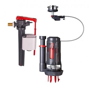 Mécanisme à câble Quick Fit avec robinet flotteur Jollyfill