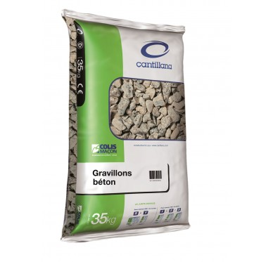 Gravier 6.3 / 20 sac de 35 kg