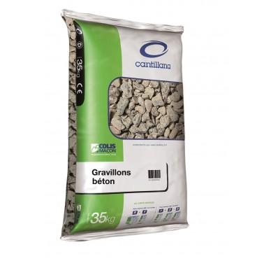 Gravier pour béton 6/14 sac de 35kg