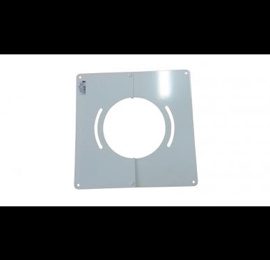 Plaque de finition blanche 300 x 300 mm Diam 153