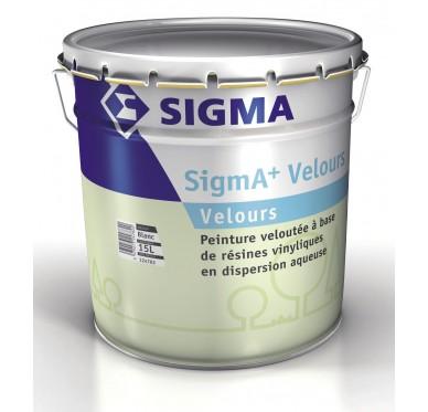 Peinture SIGMA + velours 3 Litres