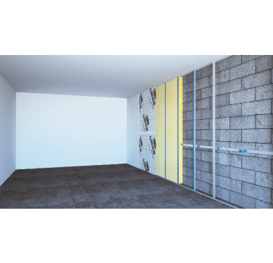 laine de verre geo rev tu kraft prk32 p 120 mm. Black Bedroom Furniture Sets. Home Design Ideas