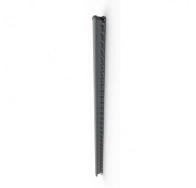 Poteau de clôture H1,45m, noir