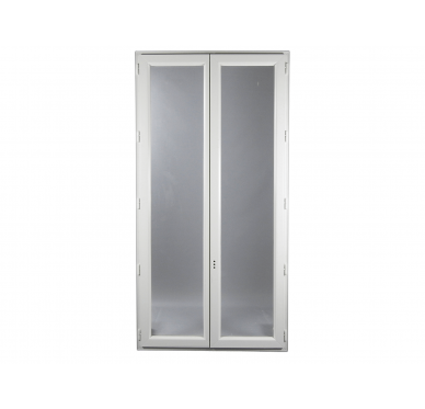 Fenêtre PVC Gamme E.PRO 2 vantaux H 145 x L 100 cm