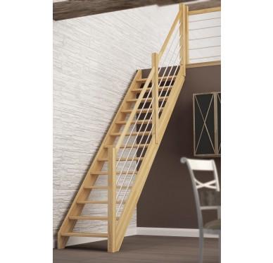 Escalier droit, H280xR255cm, Nevada